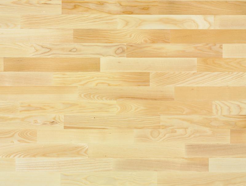 Kurzstab Esche 15/Frêne 15/Frassino 15  Klebeparkett matt versiegelt 