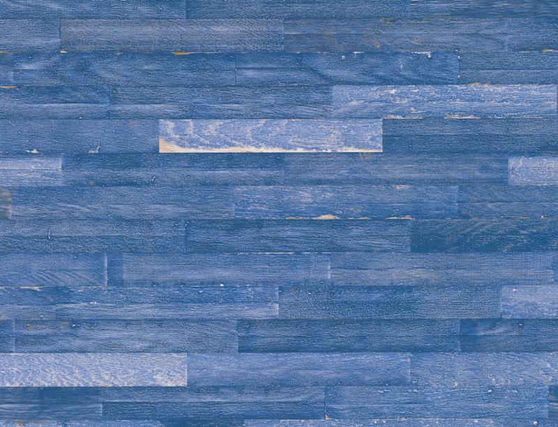 Kurzstab|Eiche Vintage Blue intense/Chêne Blue intense/Rovere Blue intense||Klebeparkett|matt versiegelt|